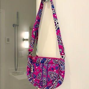 Vera Bradley purse purple and blue. EUC!